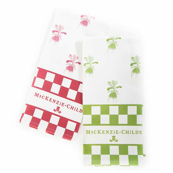 Radish Dish Towels - Set of 2