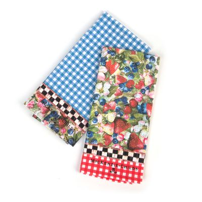 Berries & Blossoms Dish Towels - Set of 2