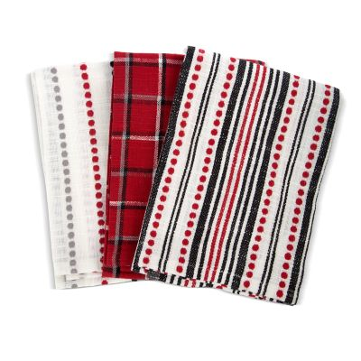 Marylebone Plaid Dish Towels - Set of 3
