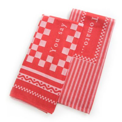 You Say Tomato Dish Towels - Set of 2
