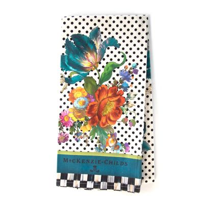 Image for Flower Market Dish Towel