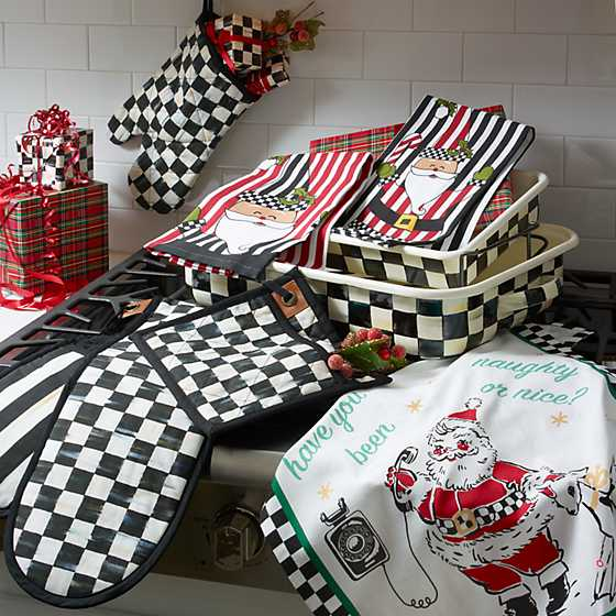 Courtly Check Bistro Oven Mitt image five