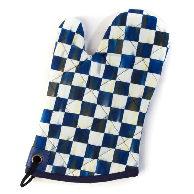 Image for Royal Check Bistro Oven Mitt