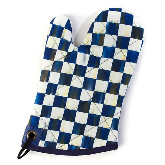 Royal Check Bistro Oven Mitt
