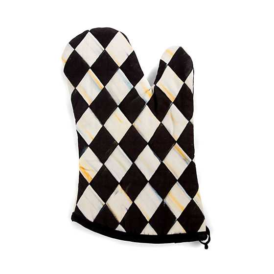 Courtly Harlequin Bistro Oven Mitt image three