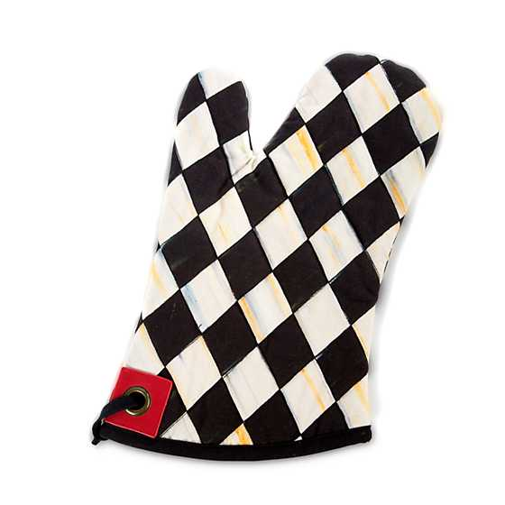 Courtly Harlequin Bistro Oven Mitt image one