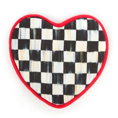 Image for Courtly Check Heart Pot Holder