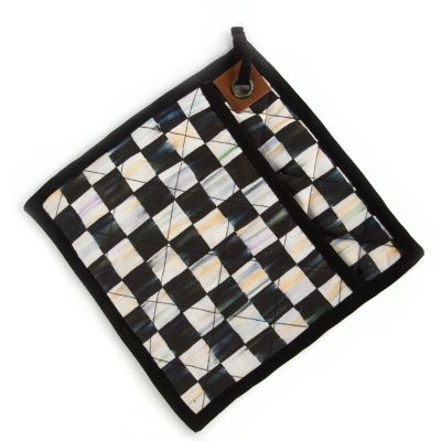 Image for Courtly Check Bistro Pot Holder