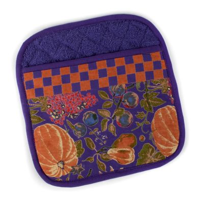 Harvest Pumpkin Pot Holder