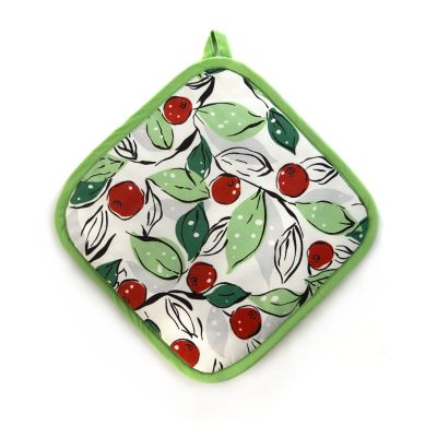 Snow Cherry Pot Holder