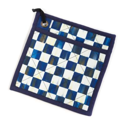 Image for Royal Check Bistro Pot Holder