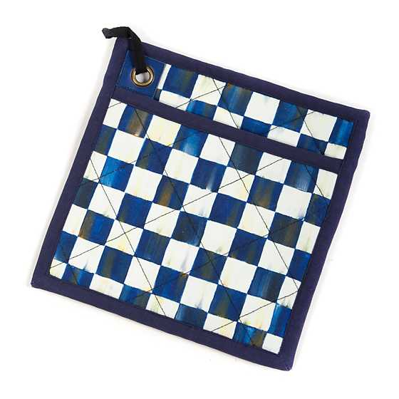 Royal Check Bistro Pot Holder image one