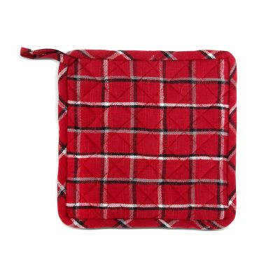 Marylebone Plaid Pot Holders - Set of 2