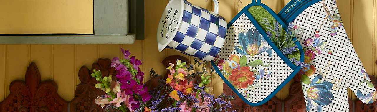 Flower Market Pot Holder Banner Image