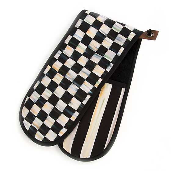 Courtly Check Bistro Double Oven Mitt