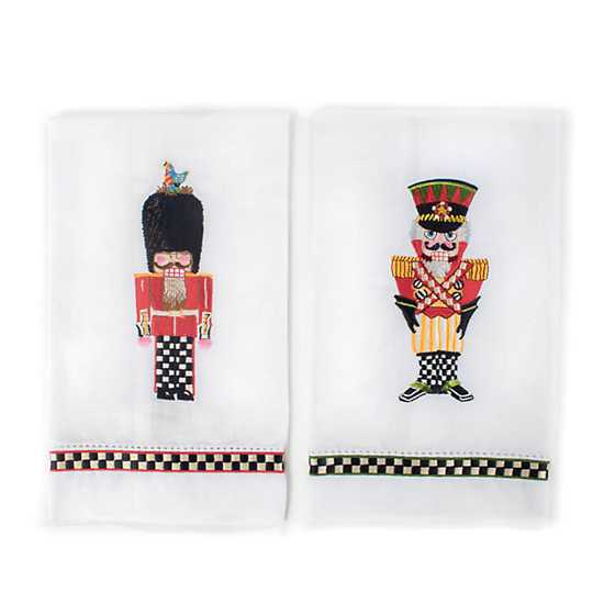 Palace Guards Guest Towels - Set of 2