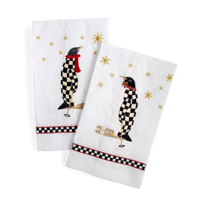Penguin Guest Towels - Set of 2