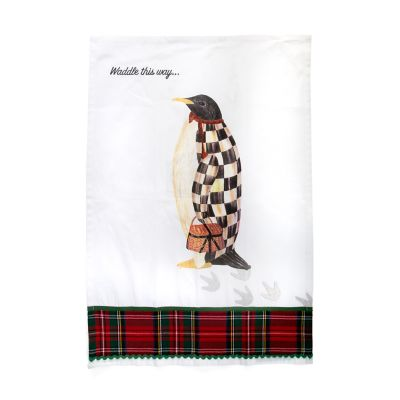 Waddle This Way Dish Towel