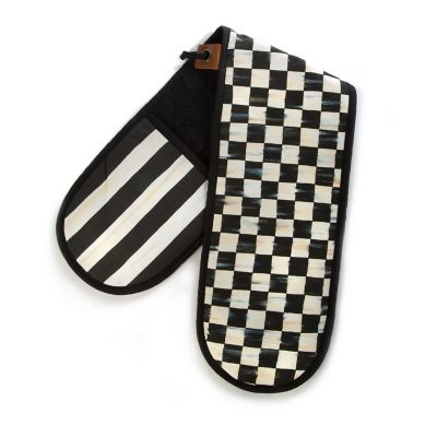 Image for Courtly Check Double Oven Mitt - Large