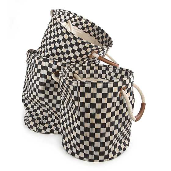 Courtly Check Storage Tote - Small image three
