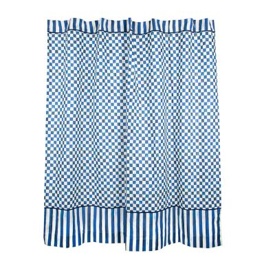 Royal Check Shower Curtain