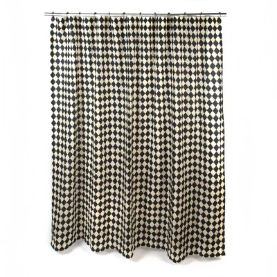Courtly Harlequin Shower Curtain