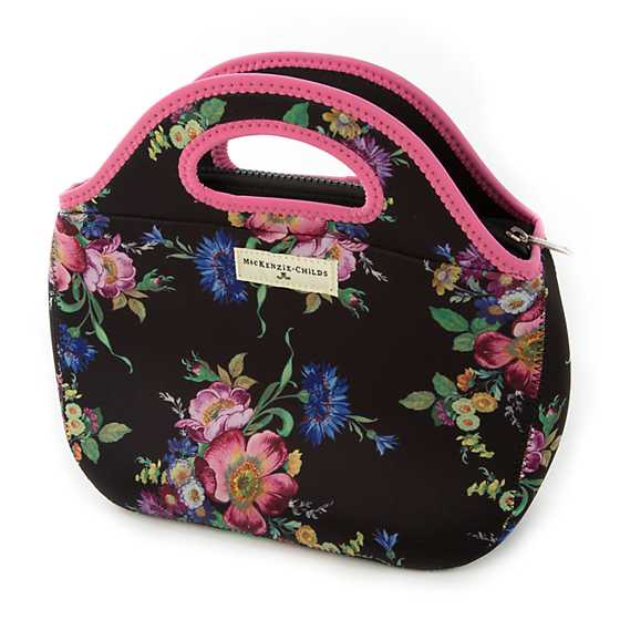 Flower Market Lunch Tote