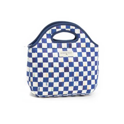 Image for Royal Check Lunch Tote