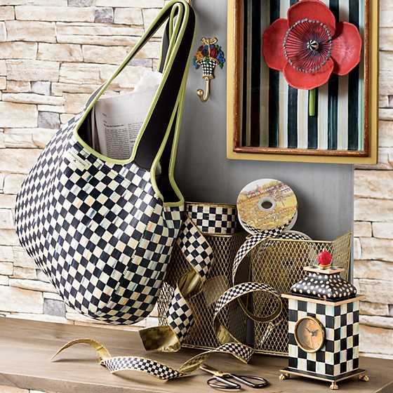 Courtly Check Carryall image two