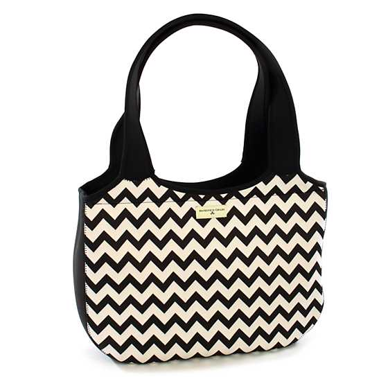 Zig Zag Carryall - Black image one
