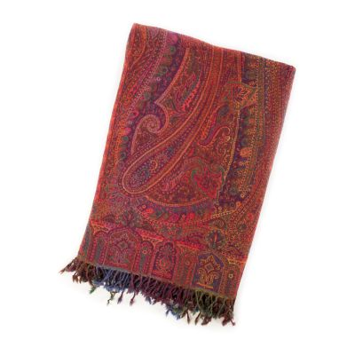 Paradise Paisley Throw