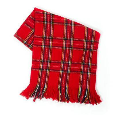 Highland Tartan Throw