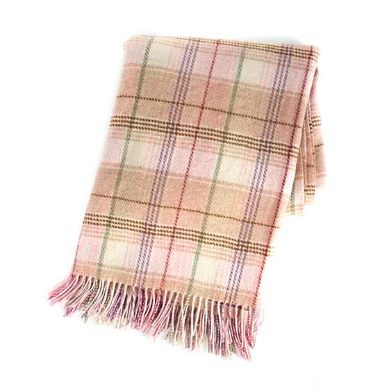 Giulietta Plaid Throw
