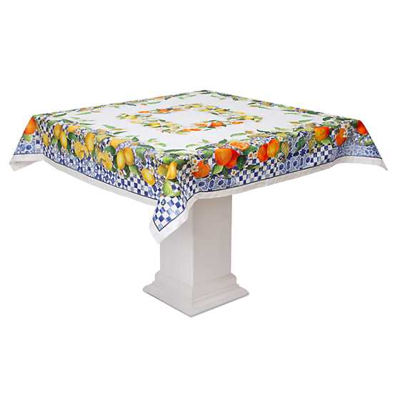 "Sun Kissed Tablecloth - 54"" Square"