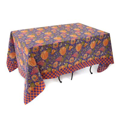 "Harvest Pumpkin Tablecloth - 58"" x 90"""