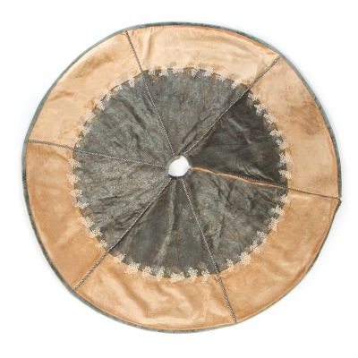Precious Metals Tree Skirt