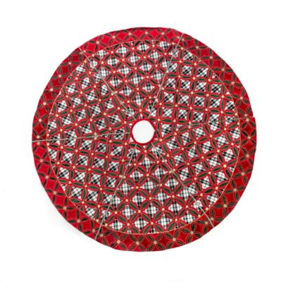 Yuletide Plaid Tree Skirt