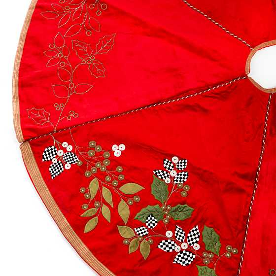 Trailing Holly Tree Skirt image three