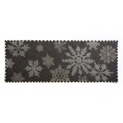 Snowflake Beaded Table Runner