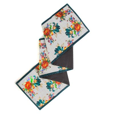 Flower Market Table Runner