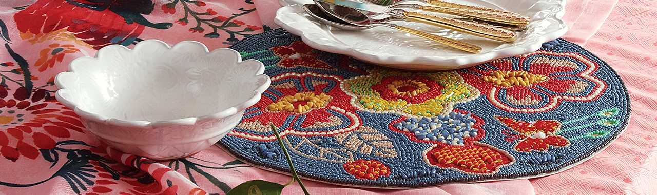 Boheme Beaded Placemat Banner Image