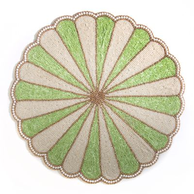 Circus Top Placemat - Green