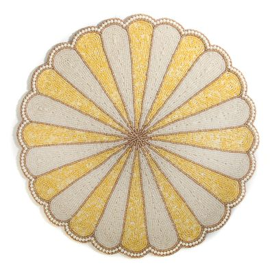 Circus Top Placemat - Yellow