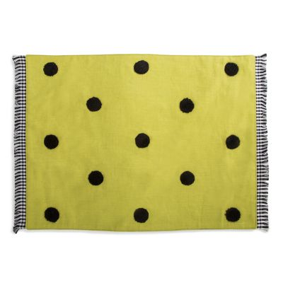 Dot Placemat - Chartreuse