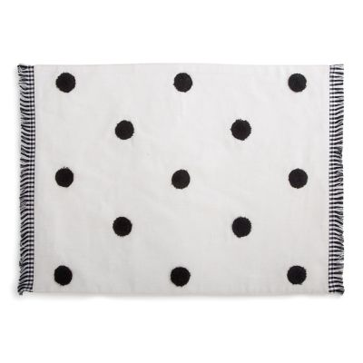 Dot Placemat - White