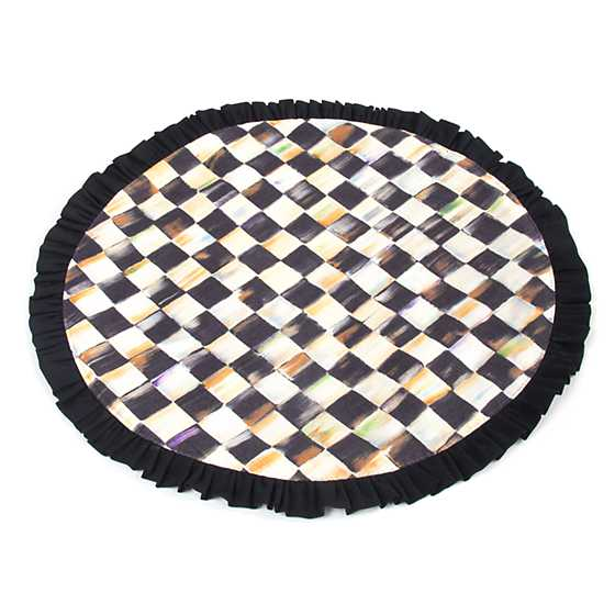 Courtly Check Round Placemat