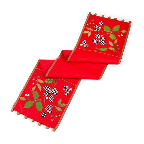 Trailing Holly Table Runner image three