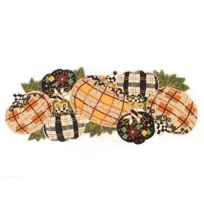 Tartan Spice Pumpkin Patch Table Runner