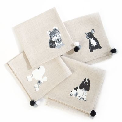 Hair of the Dog Cocktail Napkins - Set of 4