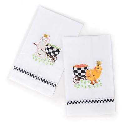 Egg Hunt Guest Towels - Set of 2